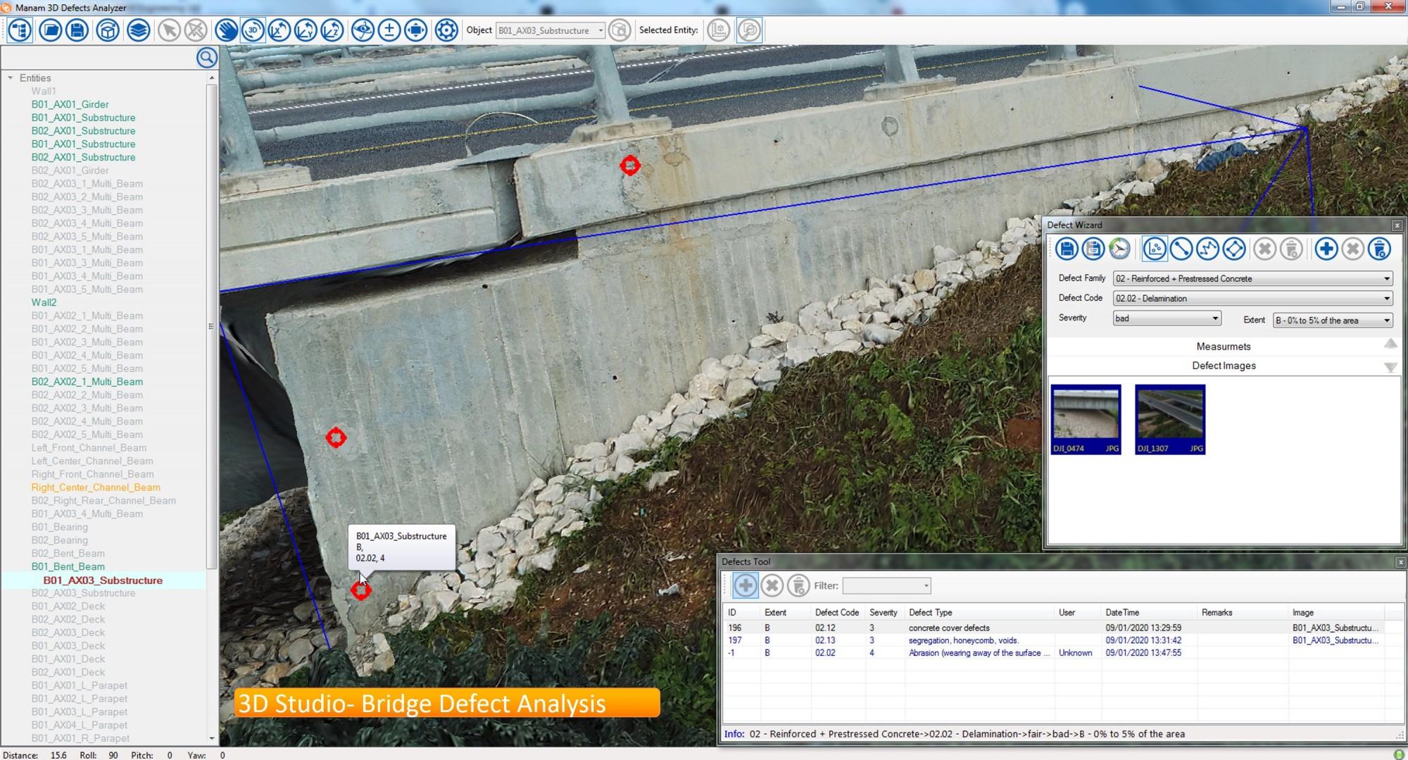 Bridge Defect Analysis